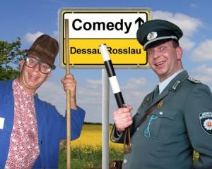 Komiker-in-Dessau