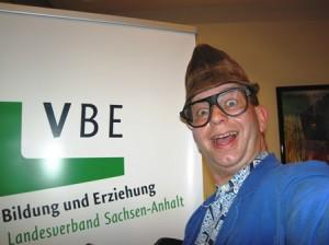 Komiker Comedy Hausmeister Kalle als Abendprogramm bei Tagung in Halle (Saale)