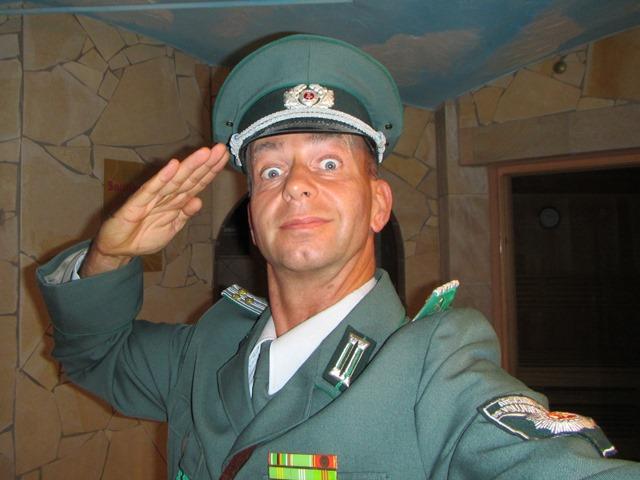 DDR Comedy Einlage zum 60. Geburstag in Rosswein in Sachsen