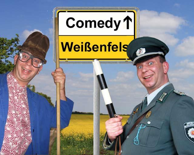 Komiker und Comedy-Alleinunterhalter in Weissenfels und Umgebung