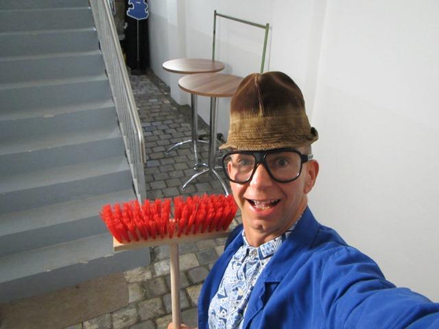 Komiker mit Hochzeitseinlage im Schloss Taucha bei Leipzig