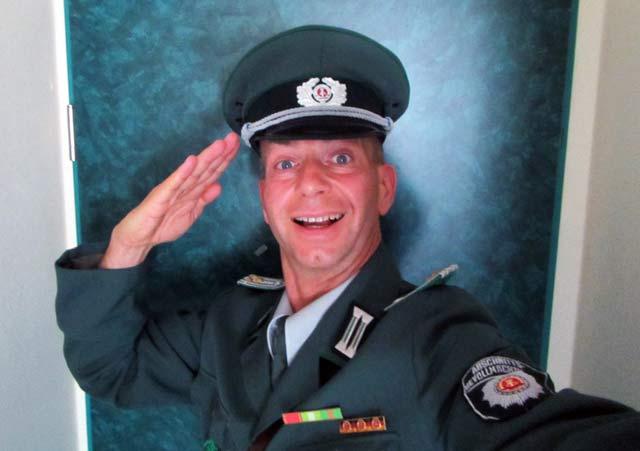 Komiker mit Comedy Show Einlage zum Geburtstag im Harz