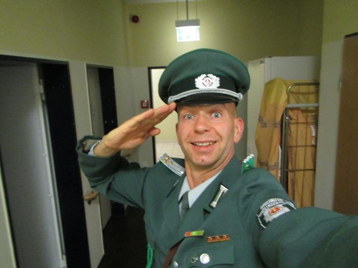 DDR Komiker in Halberstadt zur Firmenfeier