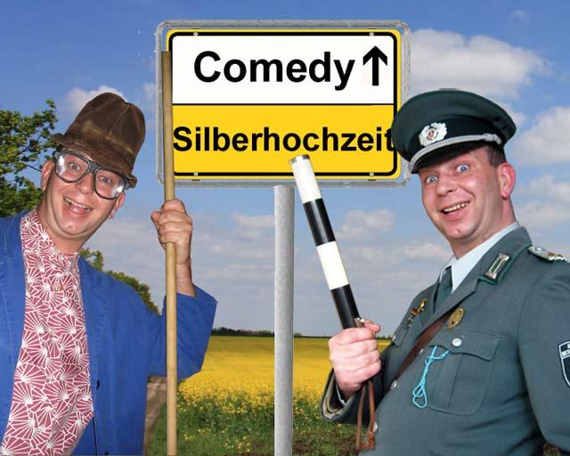 Comedy Einlagen zur Silberhochzeit