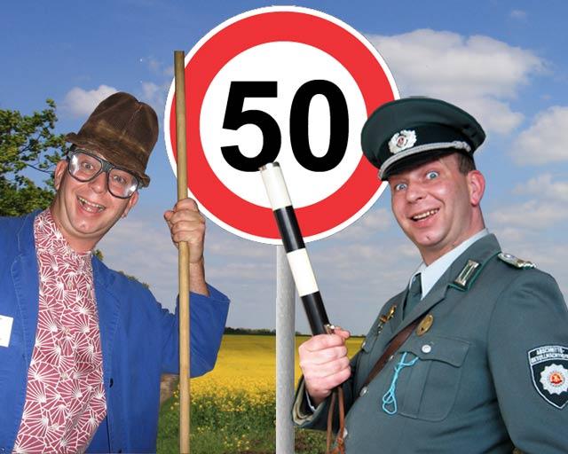 Comedy Einlagen zum 50. Geburtstag