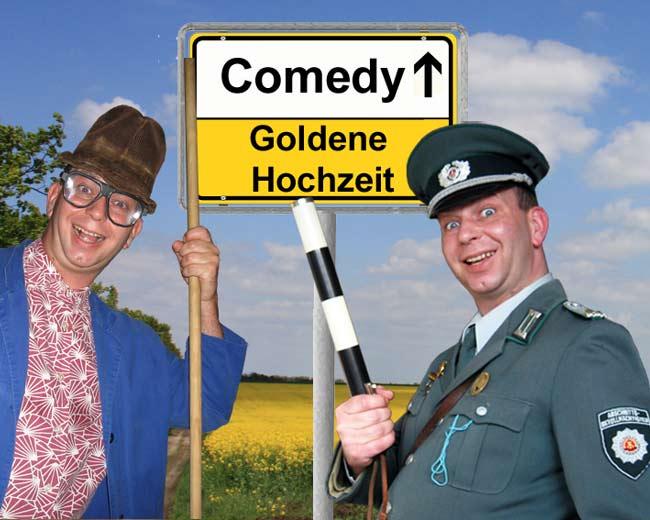 Comedy Show Einlagen zur Goldenen Hochzeit