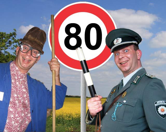 Geburtstagseinlagen zum 80. Geburtstag